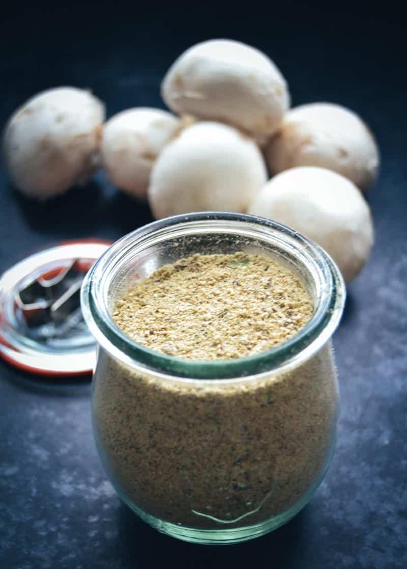 Pilz-Kräuter-Gewürzmischung