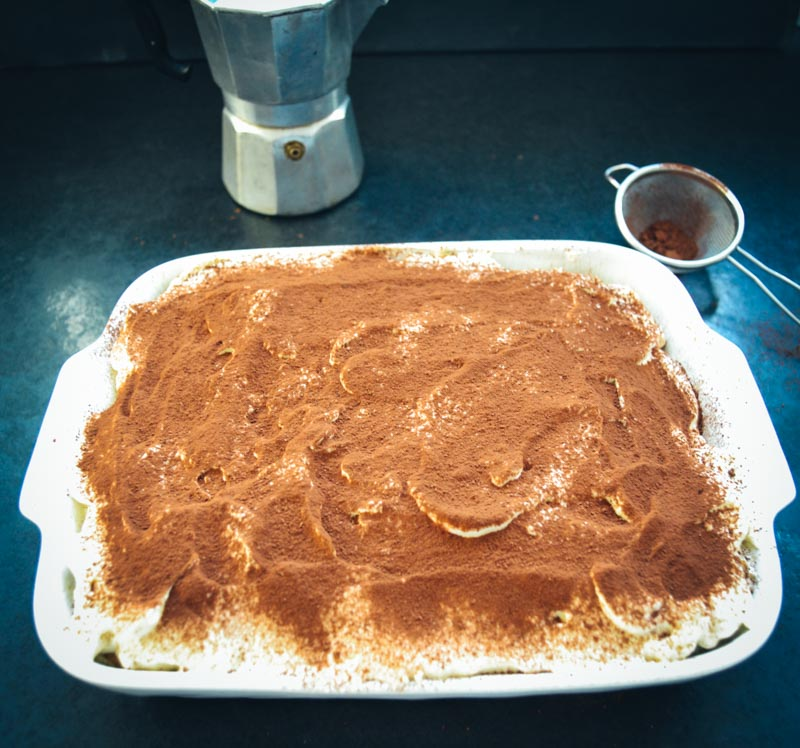 Tiramisu Rezept leckeres Dessert mit Amaretto