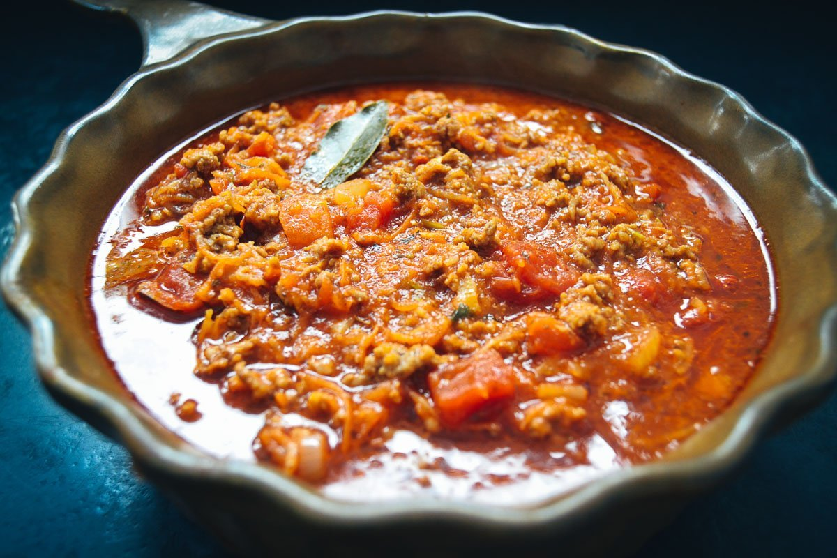 Bolognese Sauce Grundrezept