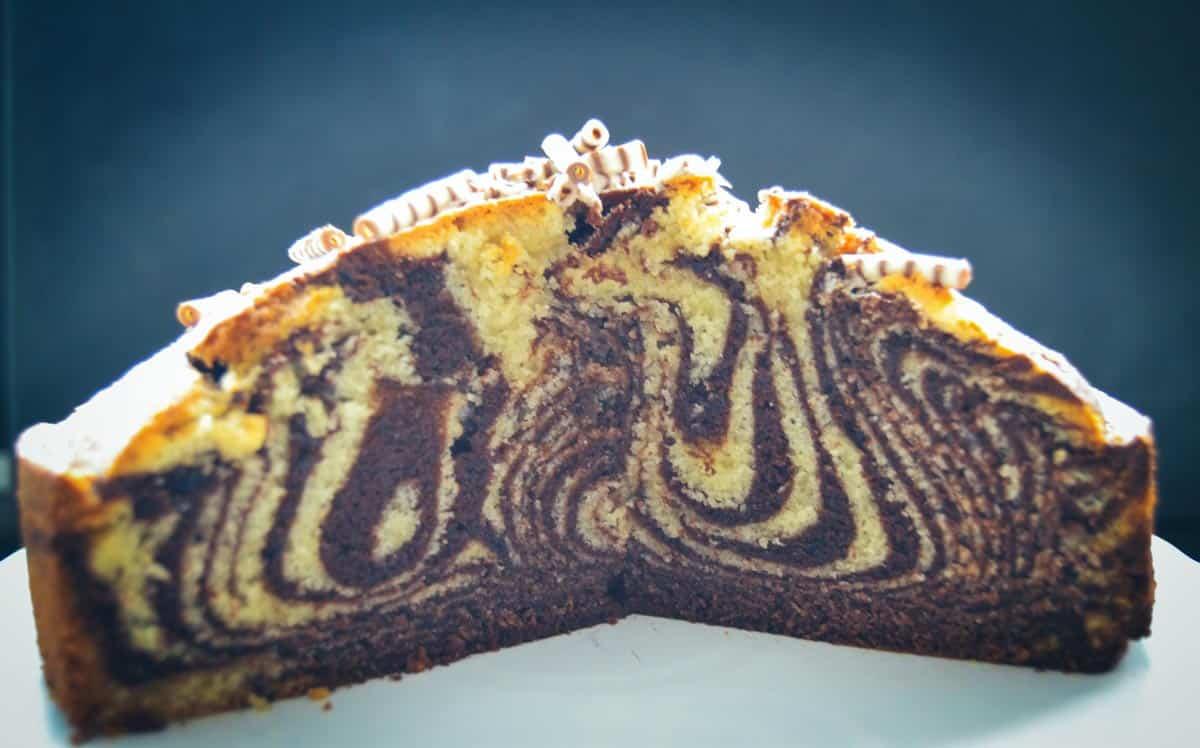 Zebrakuchen Rezept - Marmorkuchen
