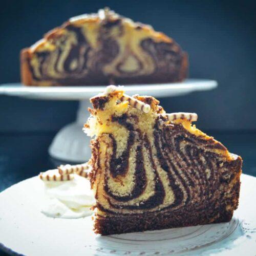Zebrakuchen - Marmorkuchen