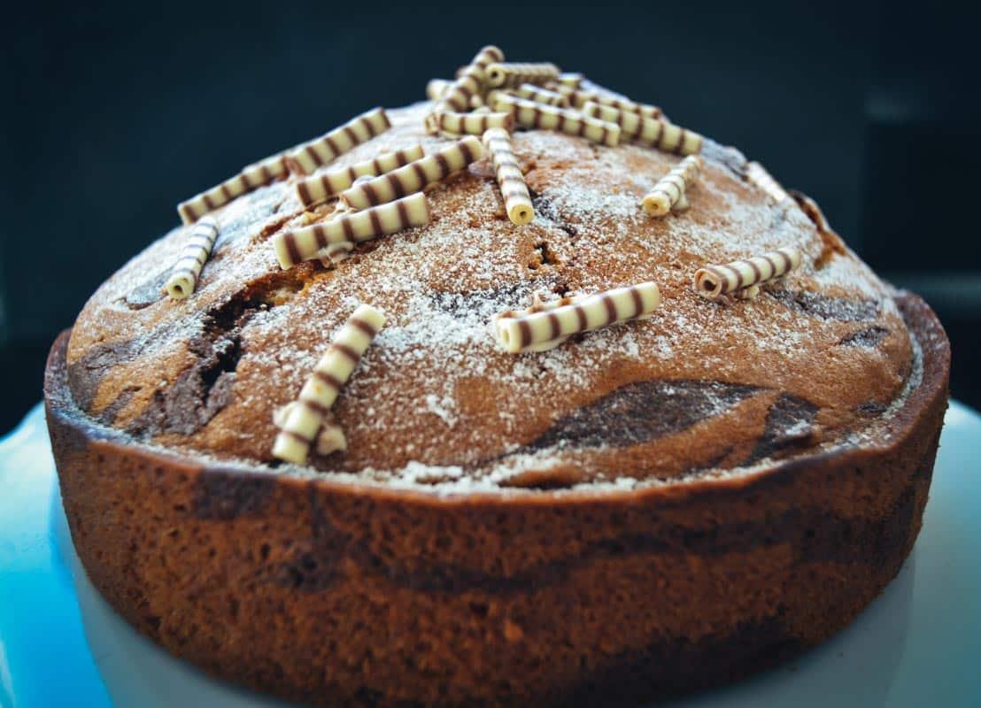 Zebrakuchen Rezept Marmorkuchen