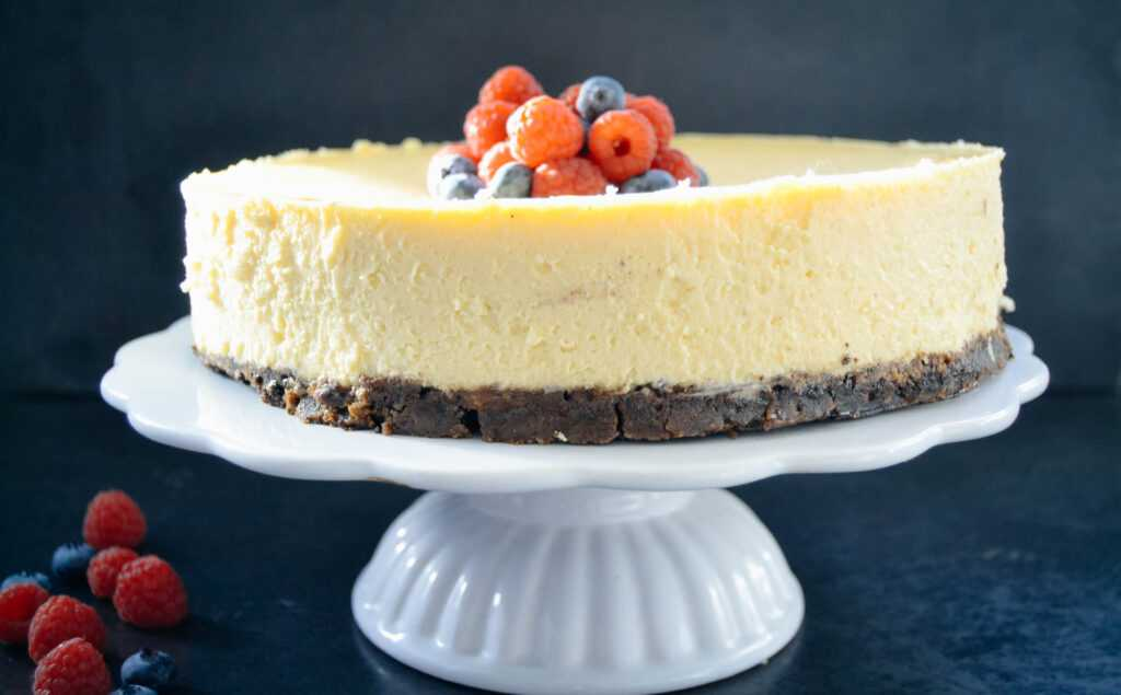 New York Cheesecake amerikanischer Käsekuchen