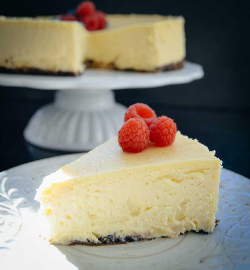 New York Cheesecake Rezept amerikanischer Käsekuchen