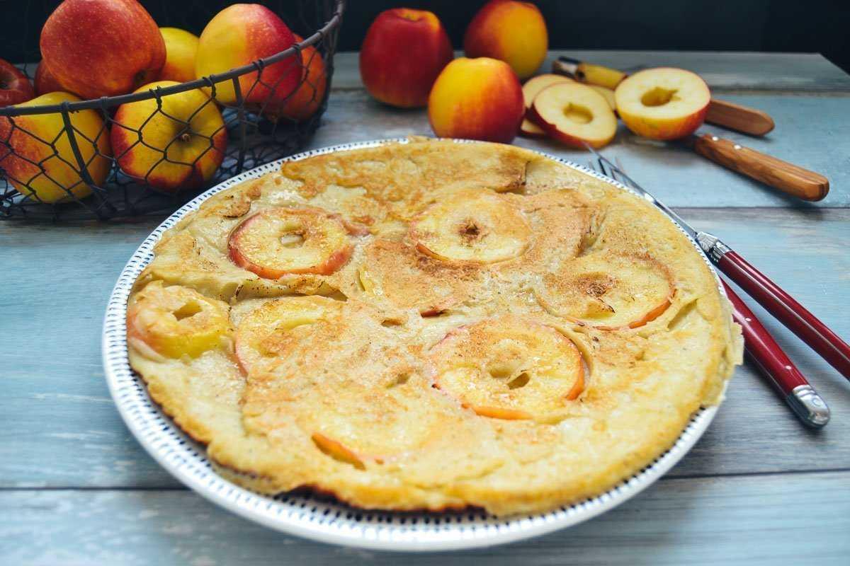 Pfannkuchen Grundrezept Eierkuchen Rezept mit Apfel