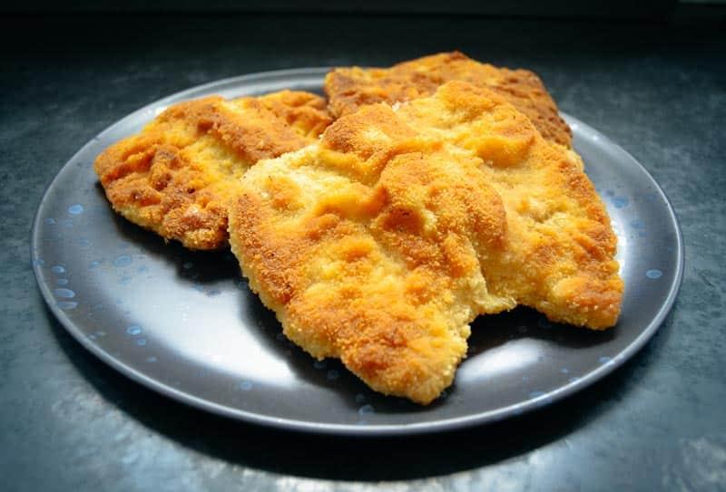 Schnitzel Rezepte Schnitzel panieren Wiener Schnitzel