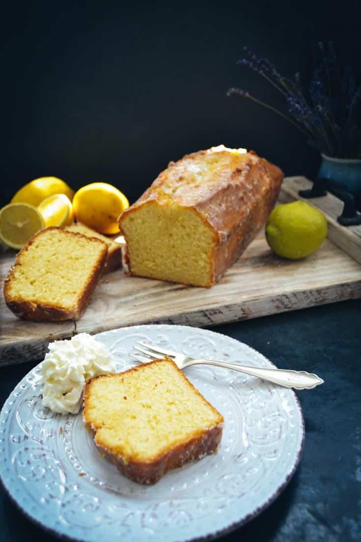 saftiger Zitronenkuchen Zitronen Kastenkuchen
