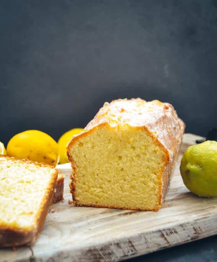 Saftiger  Zitronenkuchen Kastenkuchen Rezept
