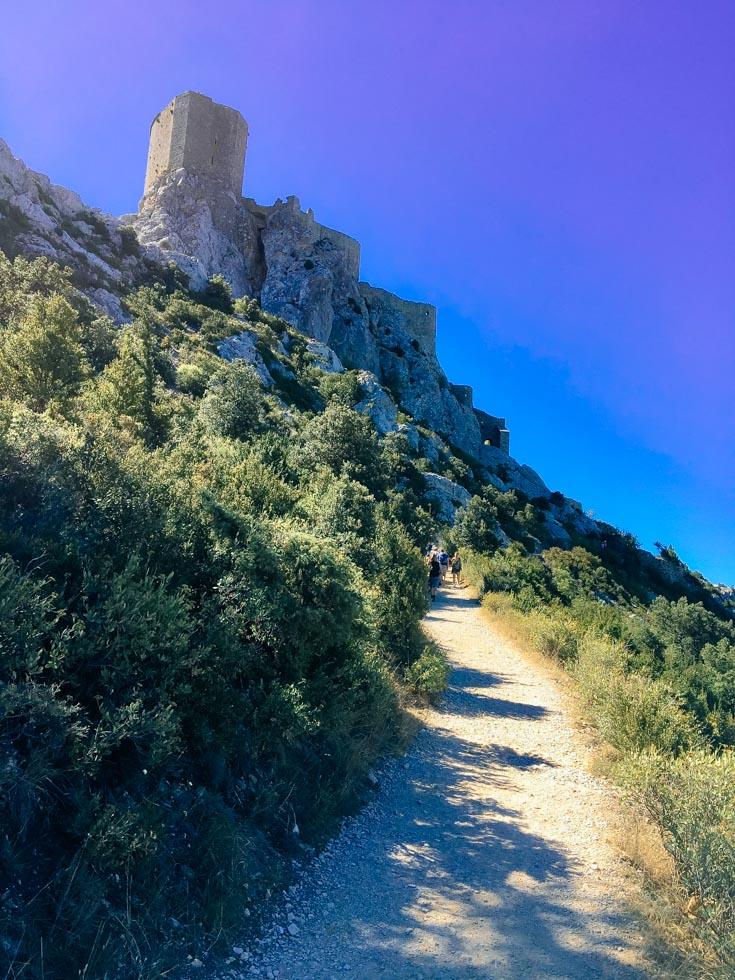 Burg Quéribus Languedoc