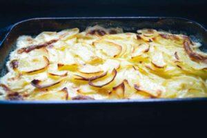 Kartoffelgratin Gratin Dauphinois