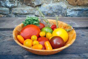 bunte Tomaten, Ochsenherz, Ananastomate, Black Krim
