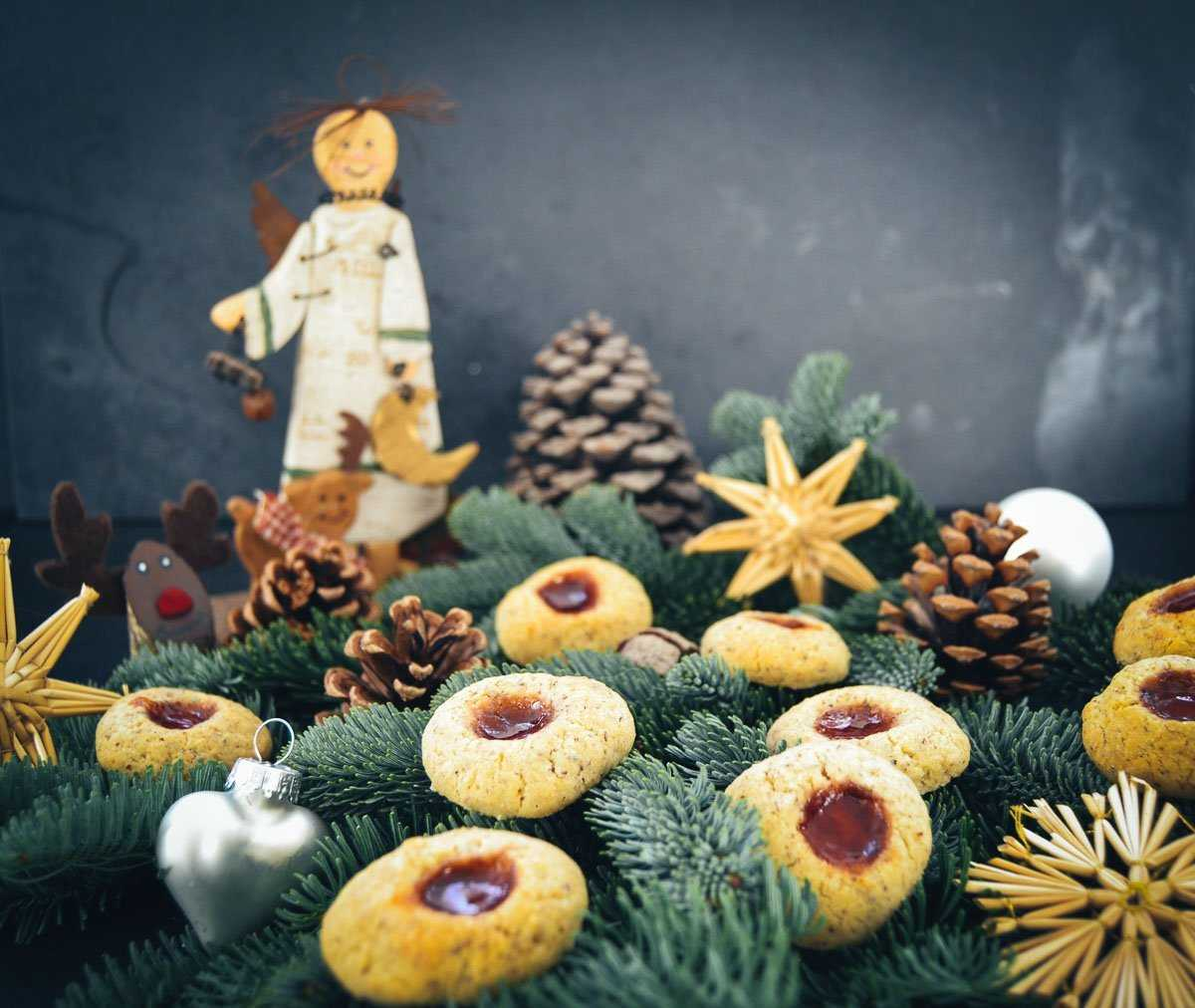 Husarenkrapfen Omas Weihnachtsplätzchen Rezept