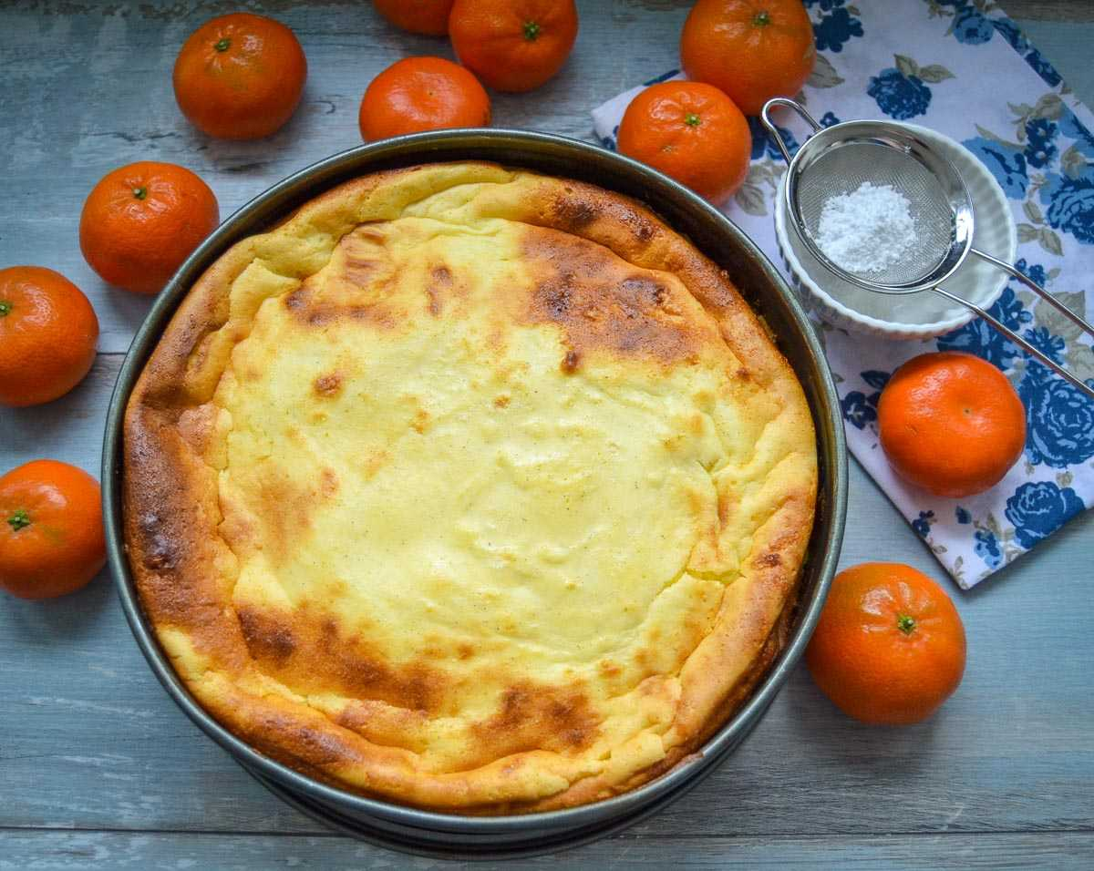 Mandarinen Käsekuchen Rezept