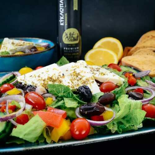 Griechischer Salat Rezept griechischer Bauernsalat