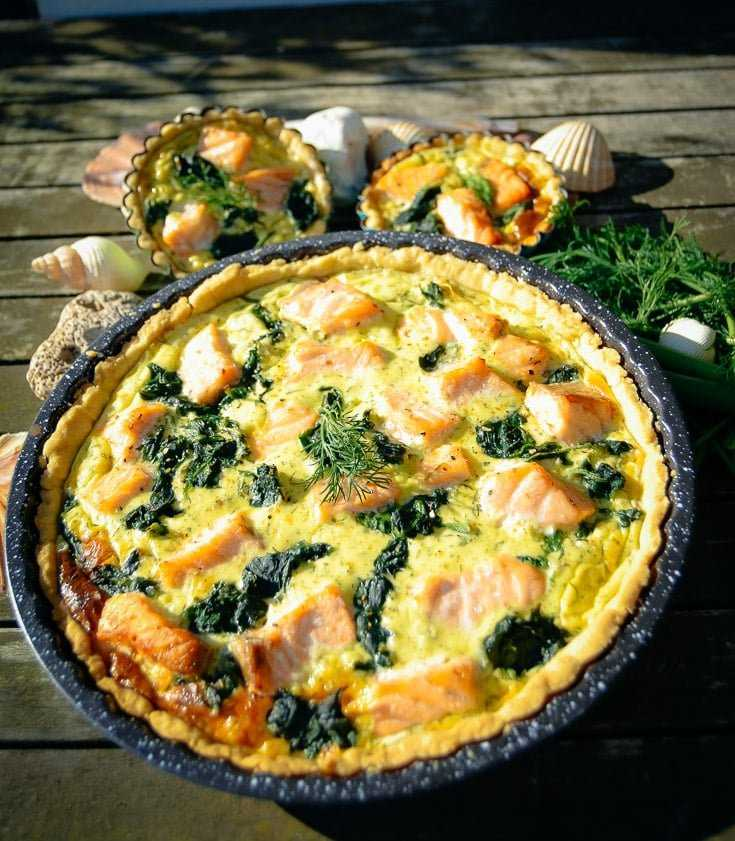 Quiche Rezept Lachs Quiche Mit Spinat Kochen Aus Liebe