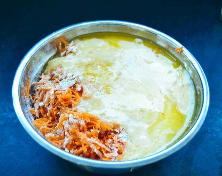 Karottenteig für Muffins
