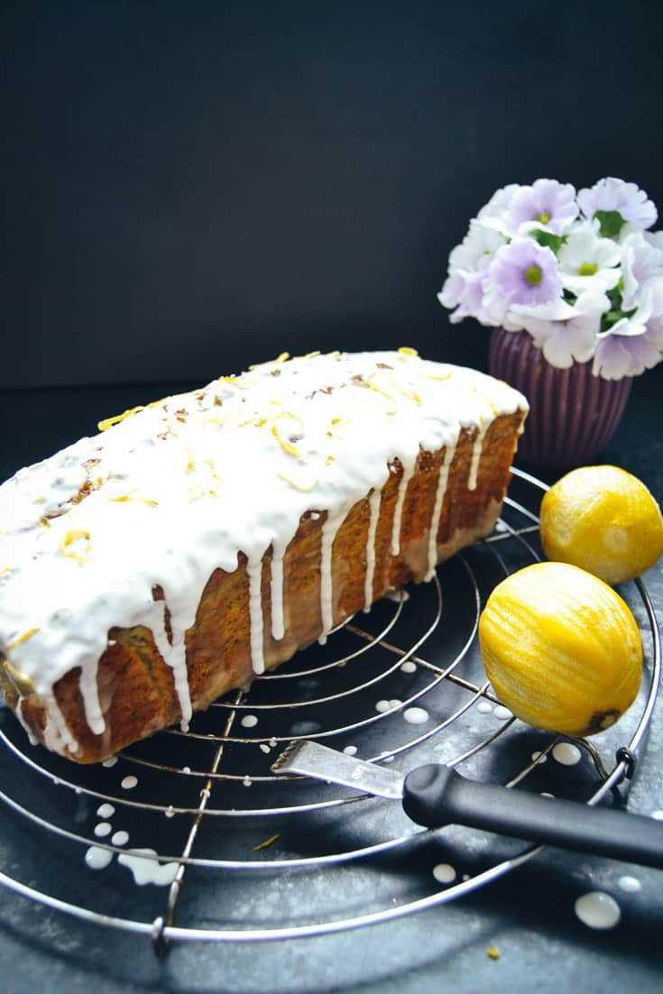 Zitronenkuchen Rezept Zitronen Mohn Kuchen