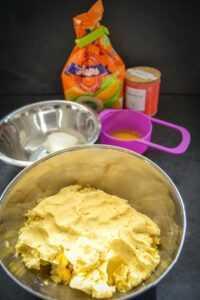 Maismehl, Frischkäse und Panela