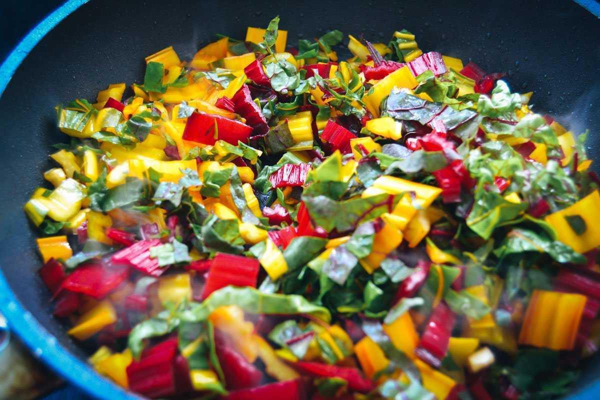 gedünsteter Mangold kochen aus liebe