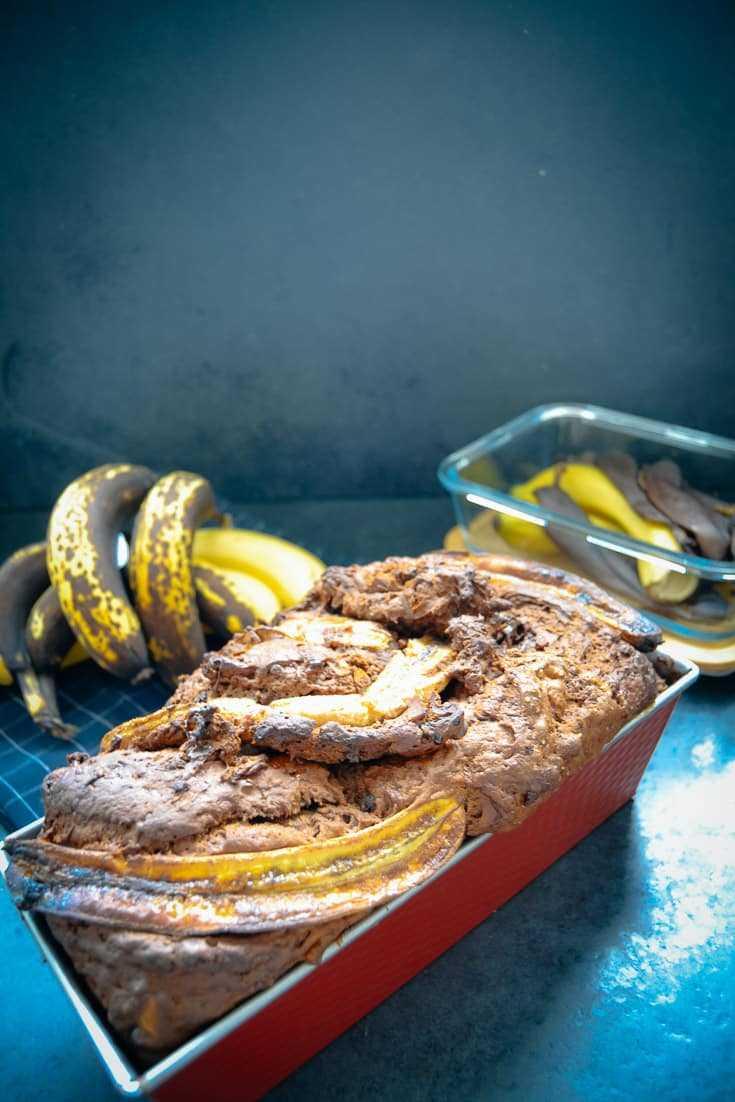 gebackenes Bananenbrot