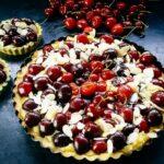 Französisches Kirschkuchen Rezept Kirschtarte mit Mandeln
