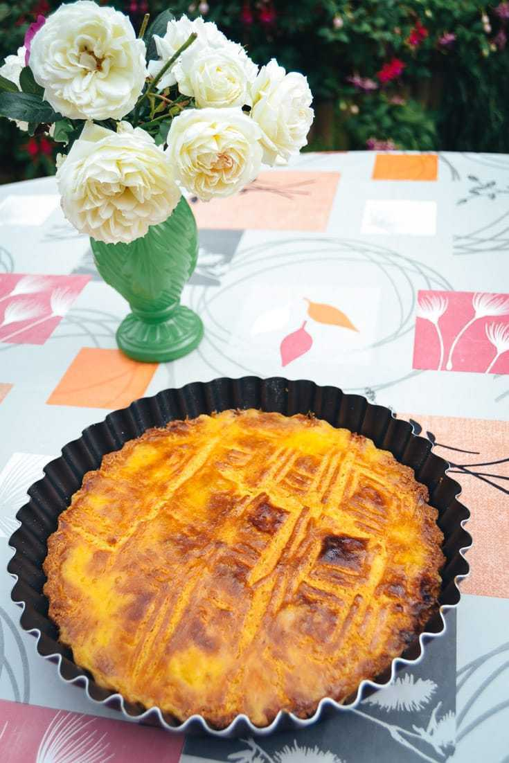 Bretonischer Butterkuchen Rezept mit Salzbutter
