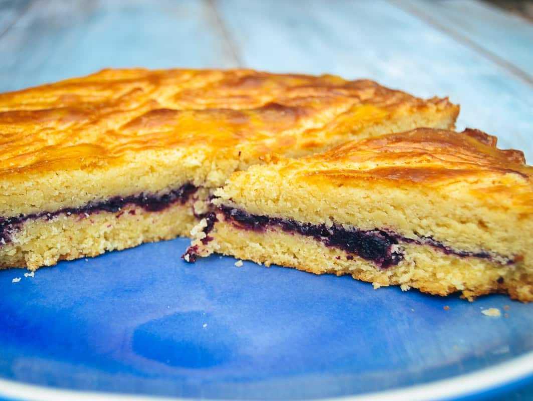 gefüllter bretonischer Butterkuchen