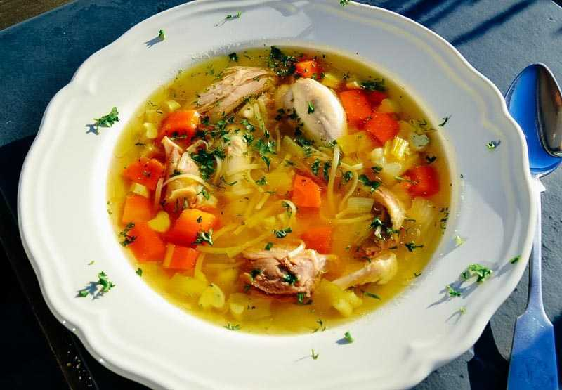 Hühnersuppe Rezept klassisch