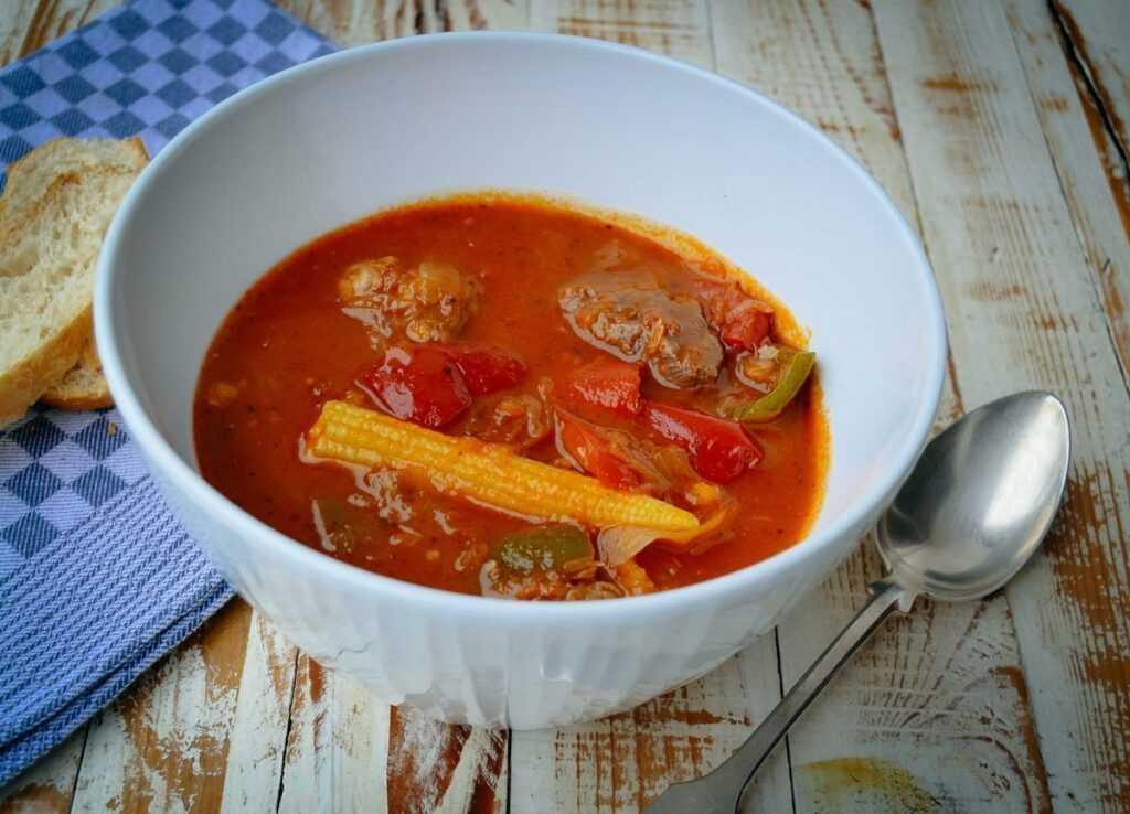 Ungarische Gulaschsuppe Rezept Partysuppe