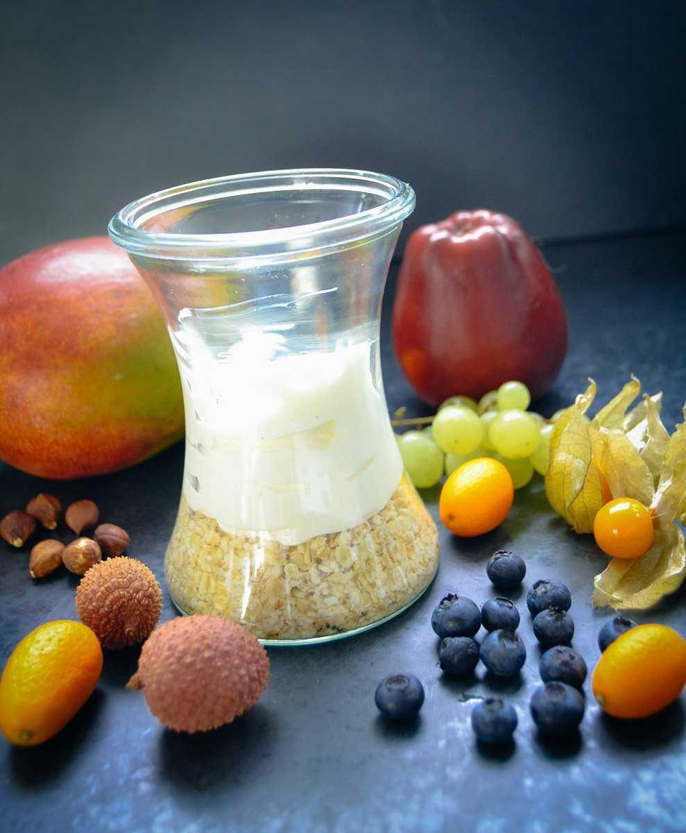 Haferflocken Rezepte mit Joghurt