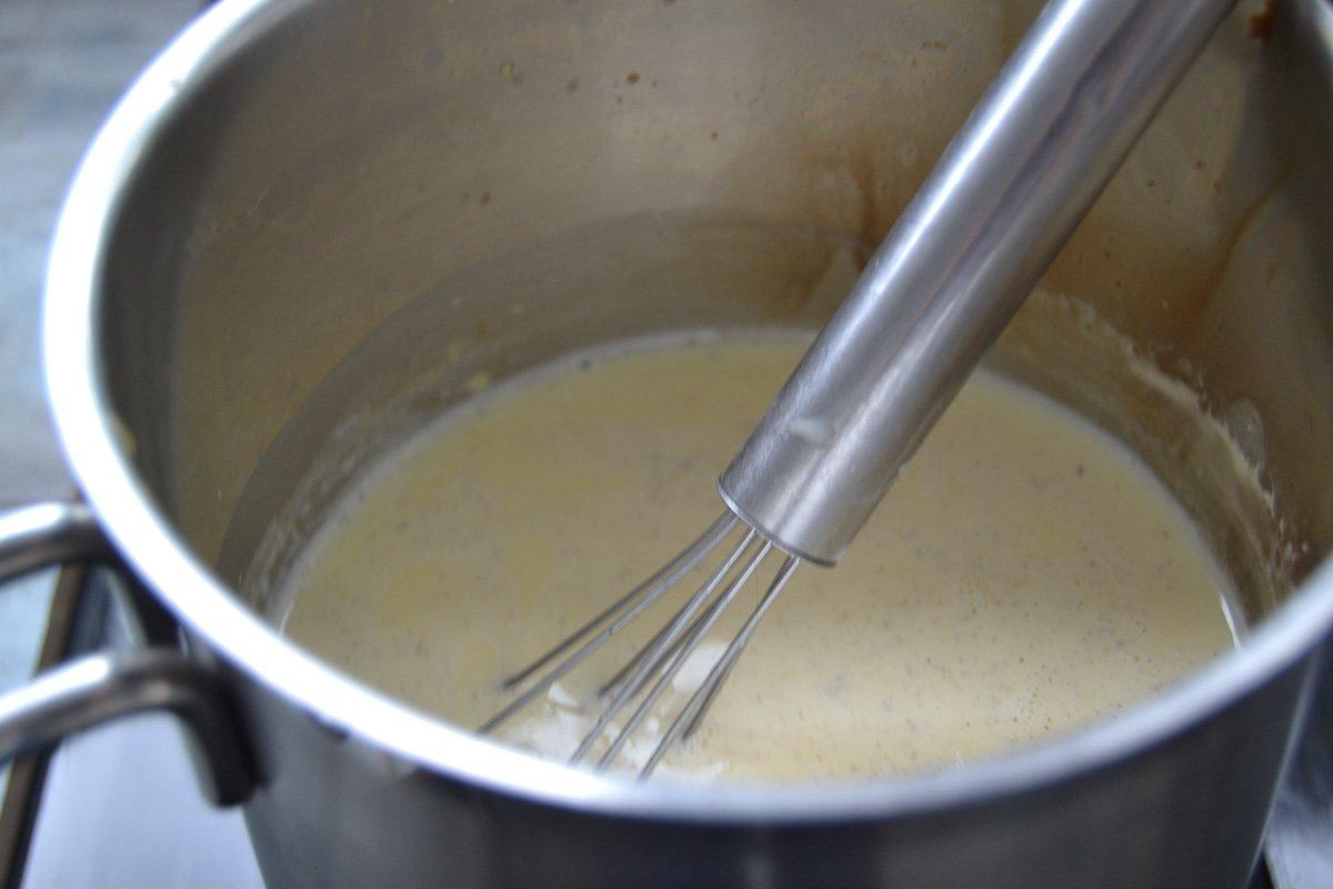 Vanillepudding kochen
