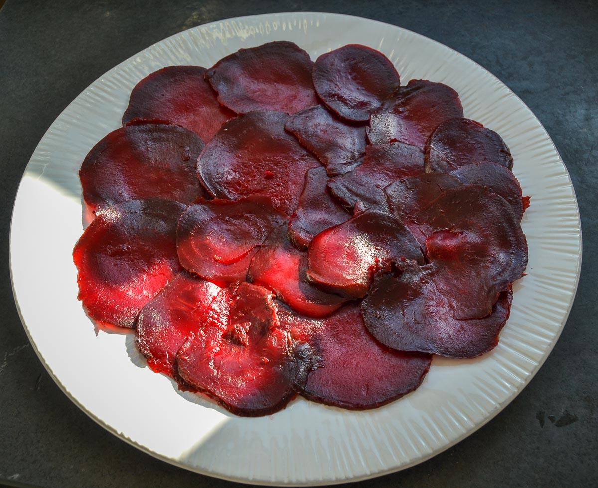 Rote Bete Carpaccio