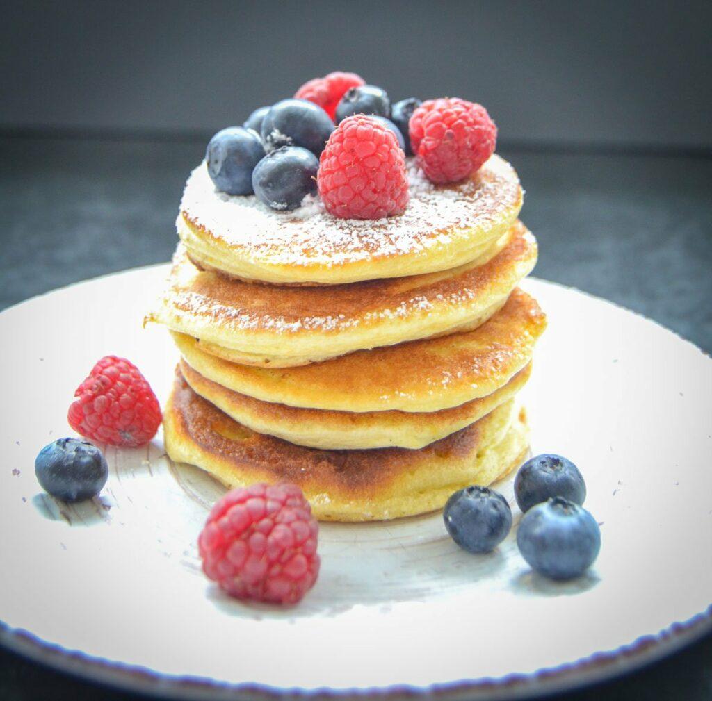 Blaubeer Pancakes Rezept
