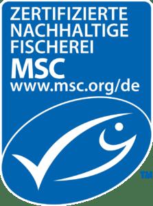 MSC logo German Portrait Blue